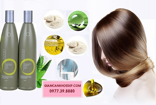 FOCUS bộ dầu gội xả có công dụng kích thích tóc mọc nhanh dài