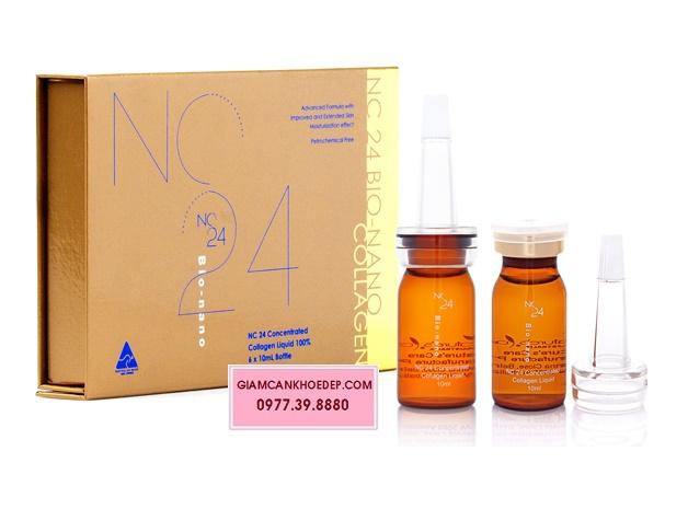 NC24 Bio nano tinh chất collagen 100% chống lão hóa đẹp da