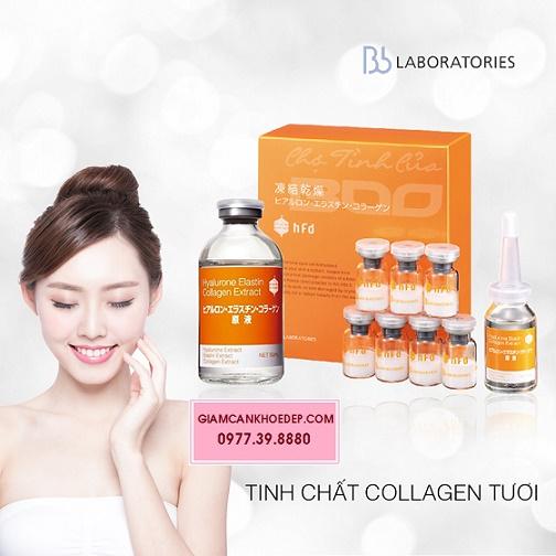 Serum tươi BB Lab nhau thai heo cho làn da khỏe đẹp