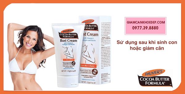 PALMER'S Bust cream Kem làm nở và săn chắc ngực