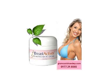 Kem thoa nở Ngực tự nhiên Breast Actives của Mỹ