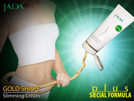 JADA Gold Shape Slimming Cream - Kem tan mỡ hàng đầu của Mỹ