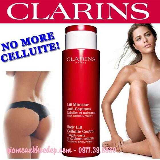 Kem massage giảm béo Clarins Body Lift Anti-Cellulite hiệu quả nhanh chóng