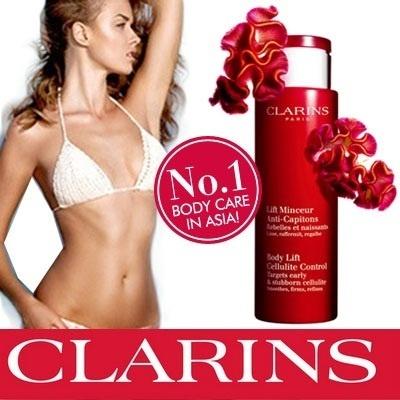 Kem massage giảm béo Clarins Body Lift Anti-Cellulite 100% chiết xuất từ thực vật tinh khiết