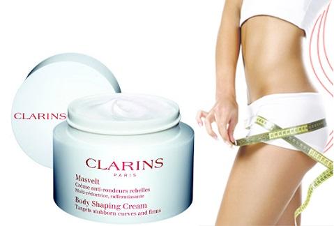 Kem thoa làm giảm mỡ thừa toàn thân Clarin Body Shaping Cream