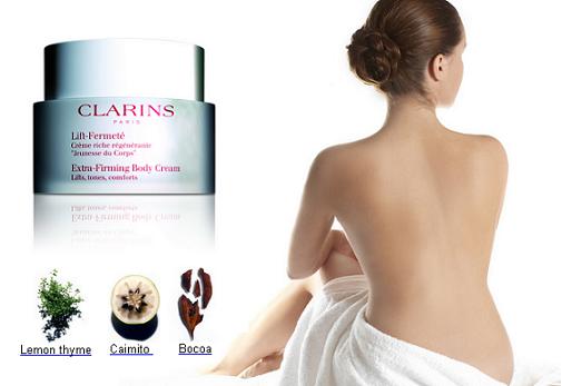 Sản phẩm Clarins Extra-Firming Body Cream - Kem tan mỡ săn chắc da toàn thân