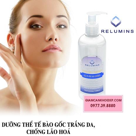 Relumins All in One day Lotion Kem dưỡng trắng da toàn thân ban ngày