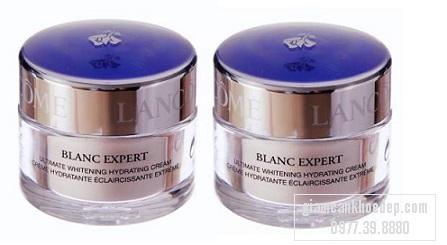 Lancome Blanc Expert Ultimate Whitening Hydrating Cream với công thức đột phá về trắng ẩm và làm mềm da