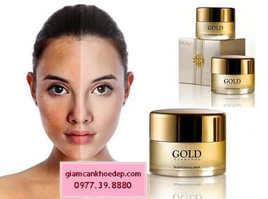 Gold Elements Age Treatment Cream trị nám da, xóa nhăn và nâng cơ mặt