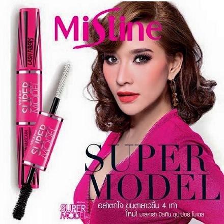 Mascara 2 đầu Mistine 4D super Thái Lan không lem không trôi