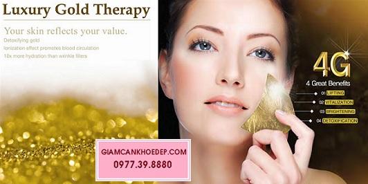 Luxury gold therapy mặt nạ dát vàng cao cấp hàn quốc