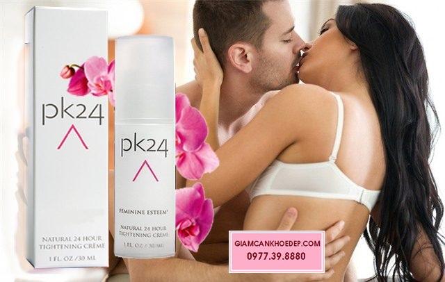 Vaginal PK24 có khả năng làm cho âm đạo se khít lại nhanh chóng