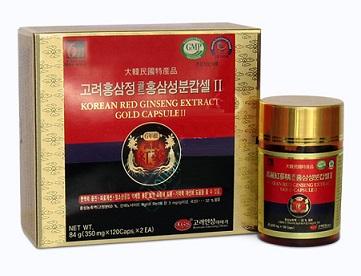 Viên hồng sâm Hàn Quốc 6 năm tuổi KGS