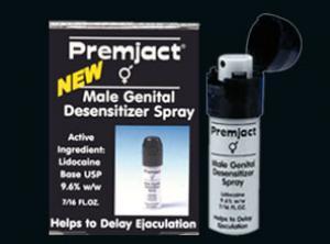 Thuốc xịt chống xuất tinh sớm Premjact hoặc Stud 100