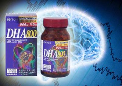 DHA EPA 800mg - Sản phẩm bổ não, tốt cho tim mạch