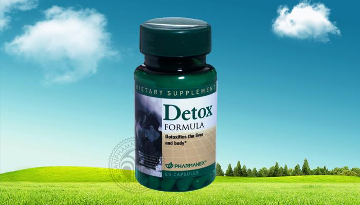 Nuskin Detox Formula -Thải độc cơ thể, bảo vệ gan