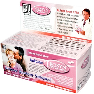 Thuốc điều trị sinh lý phụ nữ Erosyn for Women