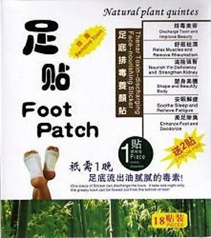 Đặc điểm của miếng dán chân thải độc cơ thể Natural Detox Foot Patch