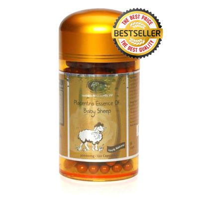 Sản phẩm nhau thai cừu Super Vip Placentra of baby Sheep 30000mg