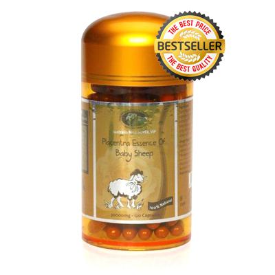 Sản phẩm nhau thai cừu Super Vip Placentra of baby Sheep 30000mg