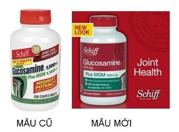 Sản phẩm Schiff ® Glucosamine plus MSM + Joint Fluid