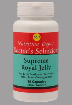 Sữa Ong Chúa Supreme Royal Jelly 63.1 của Mỹ
