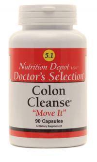 Thuốc điều trị táo bón và giúp nhuận tràng, giải độc đường ruột Colon Cleanse - Move it