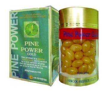 Sản phẩm tinh dầu thông đỏ Tinh dầu thông đỏ Pine Power Gold