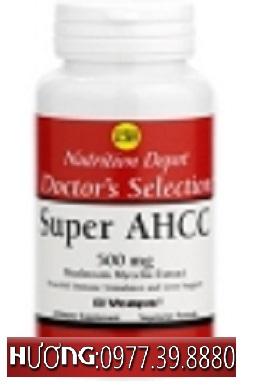 Super Ahcc - Viên uống hỗ điều trị bệnh ung thư, gan, HIV, tiểu đường