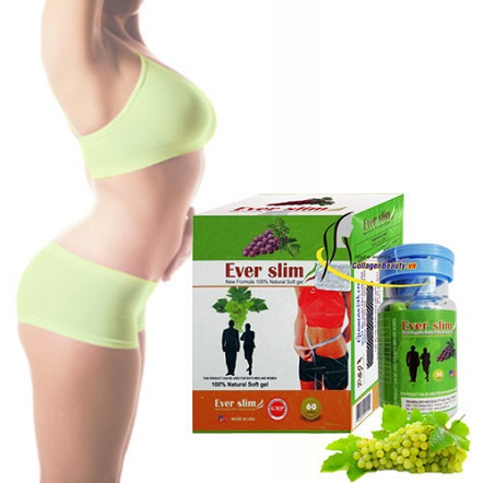 Công dụng của viên giảm cân chiết xuất từ trái nho Ever Slim