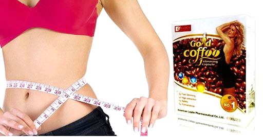Công dụng của cà phê giảm cân Gold Coffee Slimming Capsule