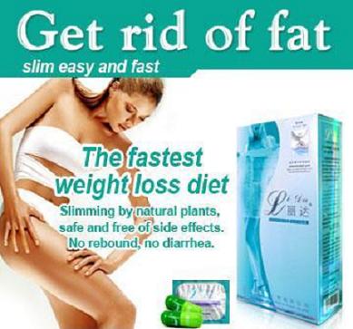 Sản phẩm viên uống giảm cân cực nhanh LiDa Slimming