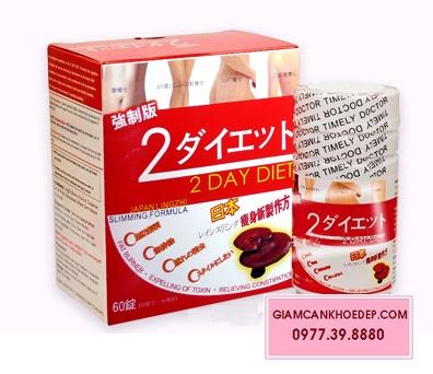 2 Day diet 753 Thuốc uống giảm cân linh chi Nhật Bản
