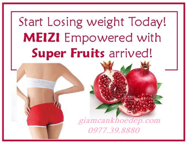 Thuốc giảm cân tinh chất trái lựu Super Power Fruits