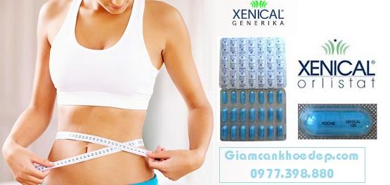 viên nang Orlistat xenical giảm cân chống béo phì