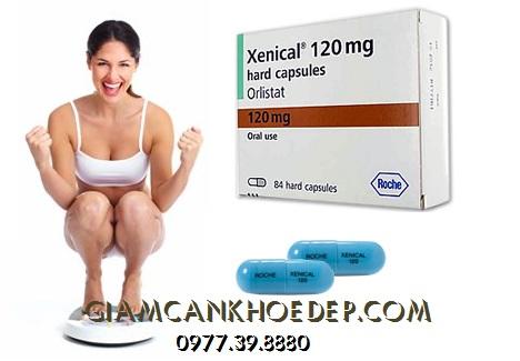 Thuốc giảm cân nặng điều trị bệnh béo phì Xenical