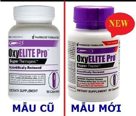 thuốc giảm cân đốt mỡ cực nhanh OxyELITE Pro New Forluma