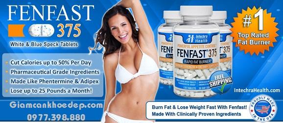 Fenfast có khả năng giảm cân mạnh cho cả nam và nữ