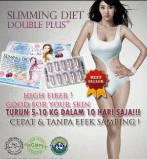 Viên giảm cân Slimming Diet Double Plus Thái Lan