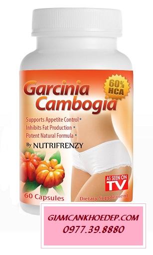 Viên Giảm Cân Bán Chạy Nhất ở Mỹ Garcinia Cambrogia