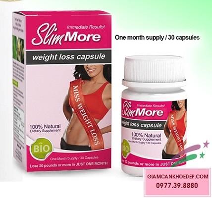 Viên giảm cân thảo dược tự nhiên Slim more