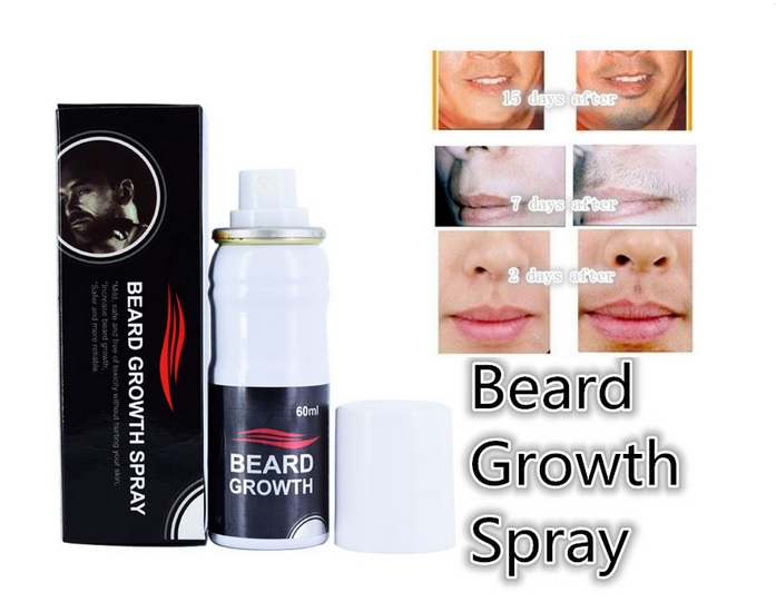 Thuốc mọc râu mọc tóc Beard growth spray