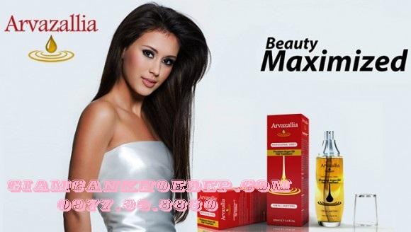 Tinh dầu Arvazallia Premium Oil Hair cải thiện độ xơ rối, gãy rụng nhanh chóng