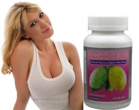 thuốc nở ngực Papaya Cruve còn Làm săn chắc và căng mịn bầu ngực