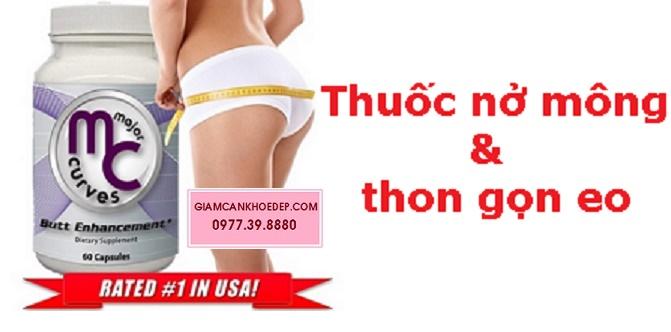 Thuốc nở mông to Major Curves Butt Enhancement