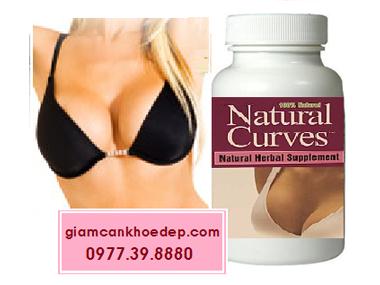 Viên thuốc nở ngực hiệu quả nhanh Natural Curves