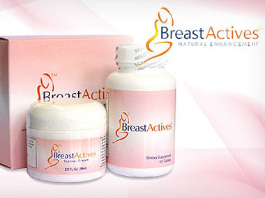 Thuốc kem nở ngực Breast Actives