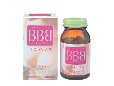Thuốc Viên nở ngực Best Beauty Body - Orihiro BB