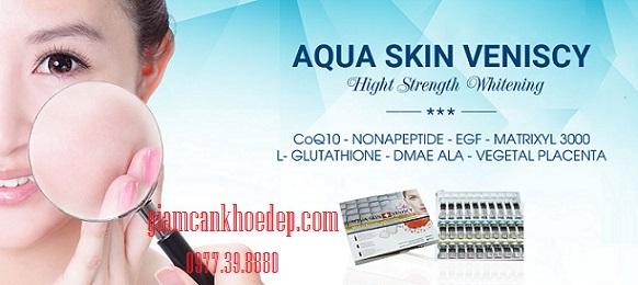 thuốc tiêm trắng da hiệu quả cao Aqua Skin Veniscy