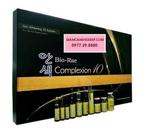 Mỹ phẩm thuốc tiêm trắng cao cấp nhất Bio-Rae Complexion 10 Skin Whitening System